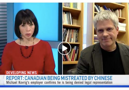 CTV: Canadian being mistreated by chinese